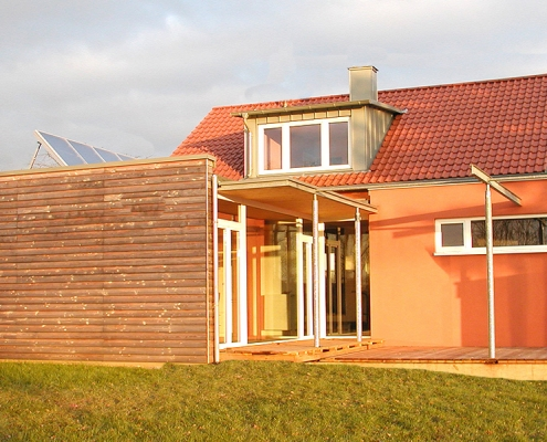 Wohnhaus Anbauten