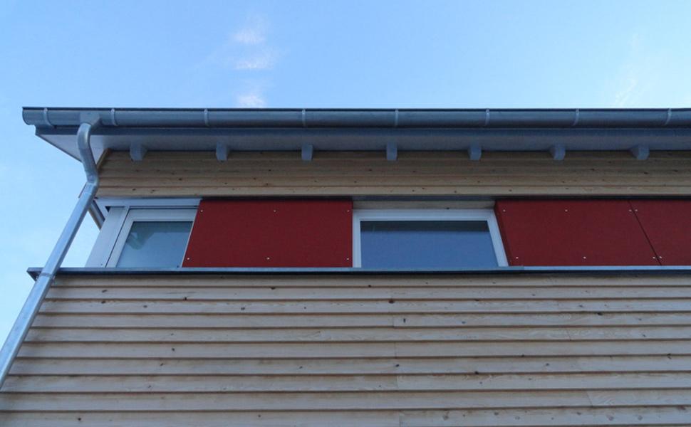 Wohnhaus Orth - Niedrigenergiehaus in Holzbauweise