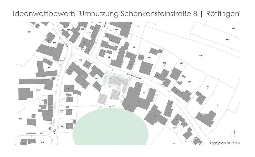 Umnutzung Des Ehemaligen Landwirtschaftlichen Anwesen Schenkensteinstraße 8 In Röttingen