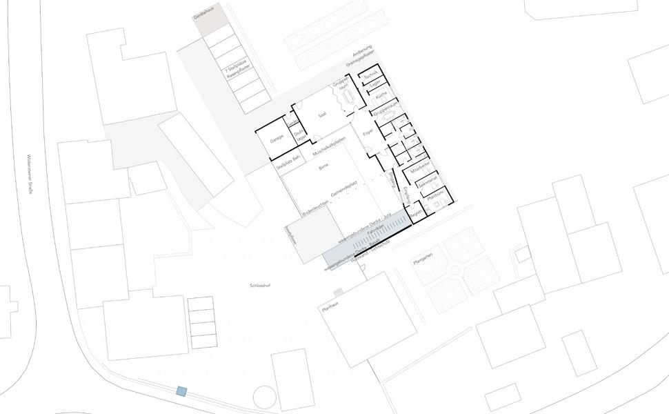Neubau eines katholischen Gemeindehauses Fichtenau
