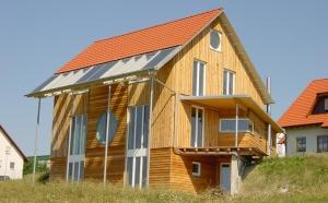 Wohnhaus Hofmann - Niedrigenergiehaus in Holzbauweise