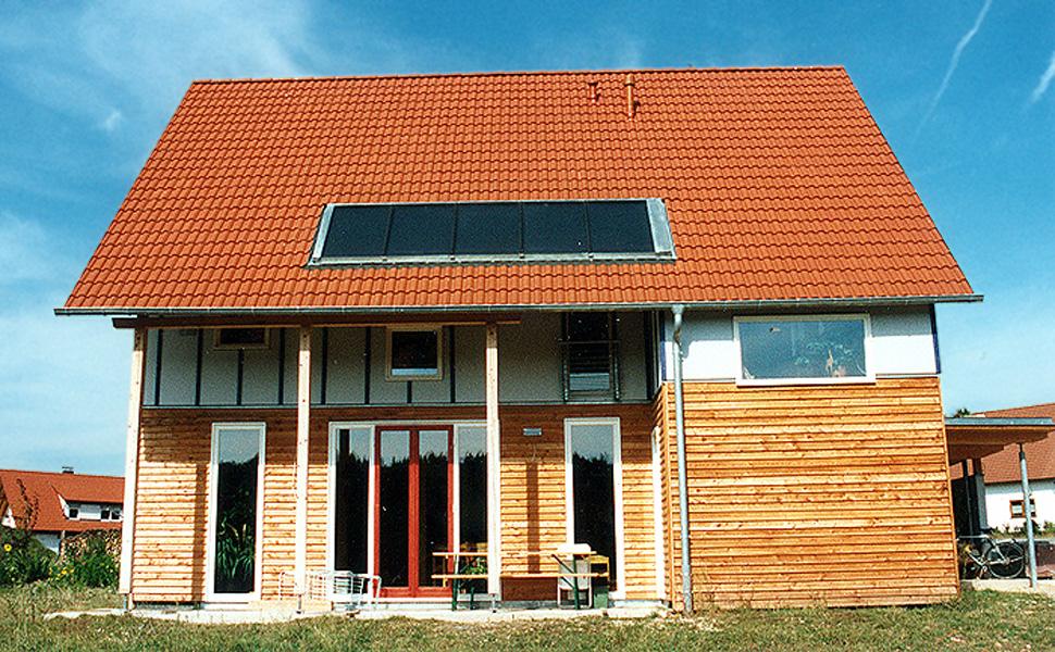 Wohnhaus Biehler - Niedrigenergiehaus in Holzbauweise