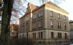 Sanierung Amtsgericht Ellwangen - Freundliche Farbgestaltung fürs Kulturdenkmal