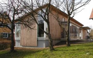 Forststützpunkt Ellenberg -   Niedrigenergiehaus in Holzbauweise