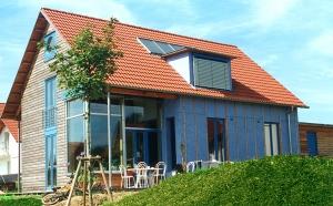 Wohnhaus Fritsche - Niedrigenergiehaus in Holzbauweise