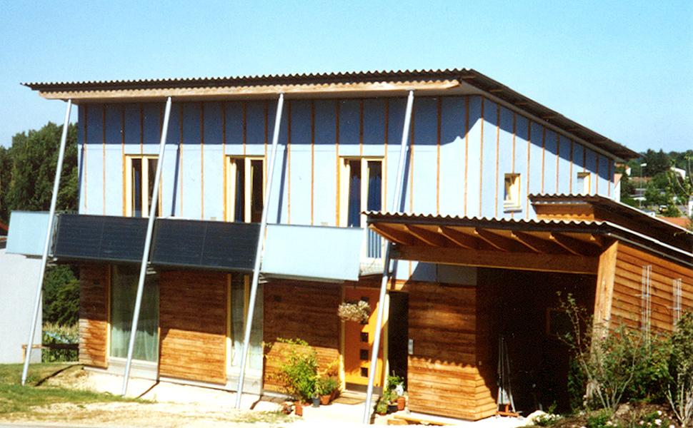 Wohnhaus Kubitza - Niedrigenergiehaus in Holzbauweise
