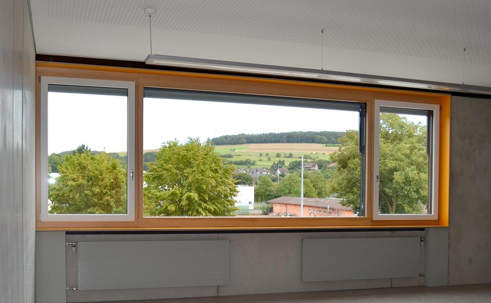 Neubau Bürgerhaus mit Mensa und Neubau Andreas-Fröhlich-Schule