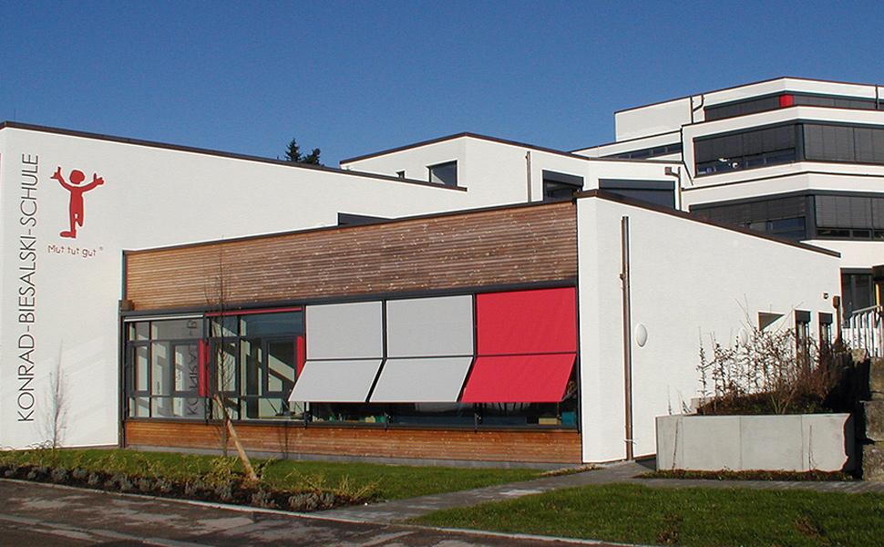 Konrad-Biesalski-Schule Wört Erweiterung