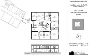 Neubau für die Außenklassen/ kooperativen Organisationsformen der Konrad-Biesalski-Schule in Crailsheim
