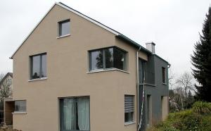 Wohnhaus Hieber - KfW-Effizienzhaus 55 als Holzrahmenkonstruktion